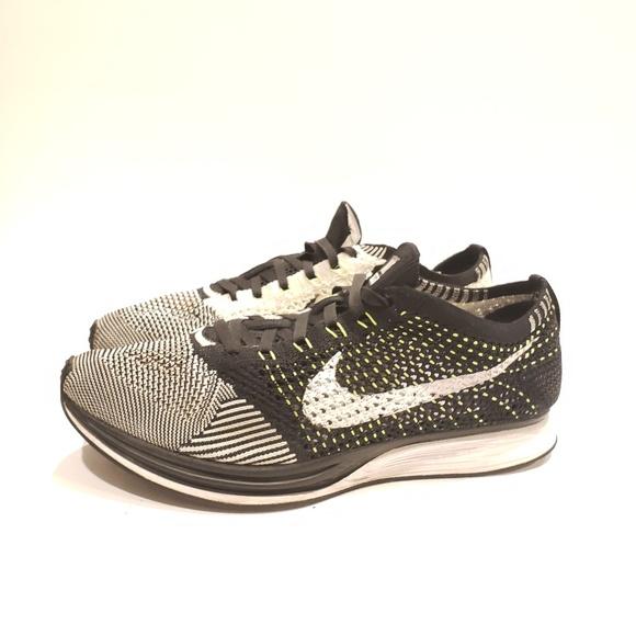 Nike Shoes | Nike Flyknit Racer Neon